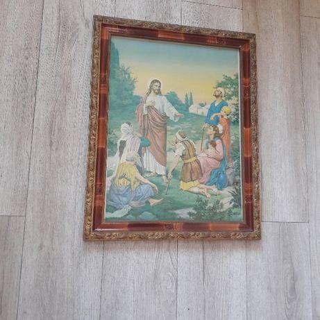 obraz jezus piękna rama Tanio!