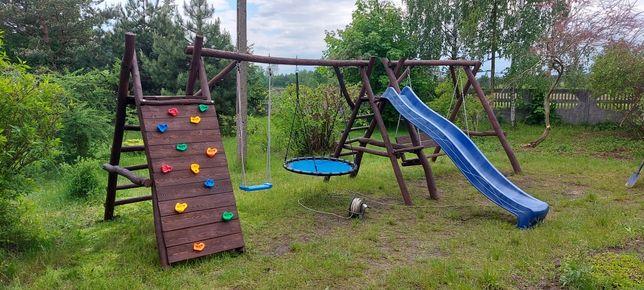 Huśtawka ogrodowa bocianie gniazdo do ogrodu