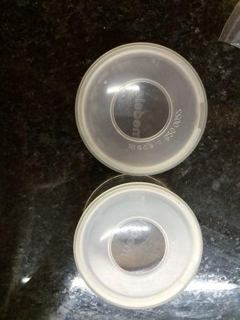 Conchas coletoras leite medela