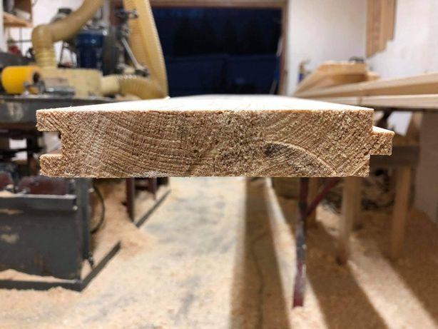 Deska podłogowa, Podłoga drewniana świerkowa