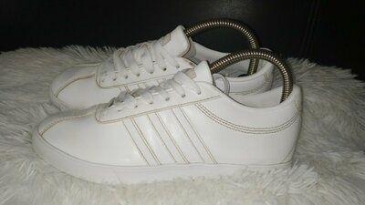 Adidas кроссовки кожа-екокожа