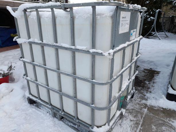 Pojemnik, zbiornik 1000l oraz 600 na paliwo, deszczówkę, szambo