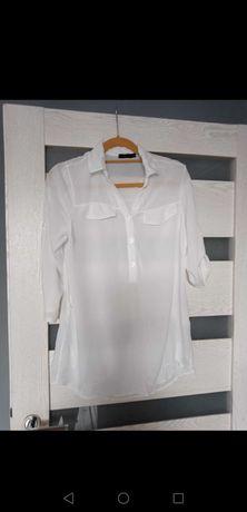 Biała koszula rozmiar L