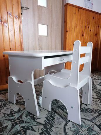 Biurko i krzesełko z regulacją wysokości