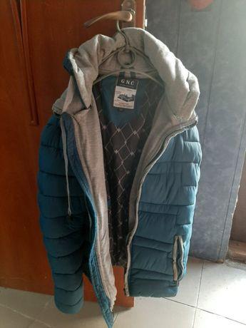 Зимняя синяя курточка