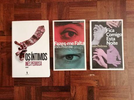 Livros de Inês Pedrosa