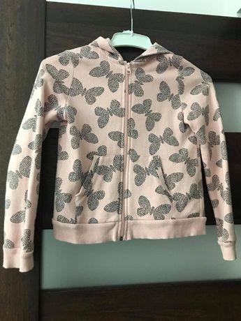 Bluza rozpinana H&M ROZ. 134/140 STAN IDEALNY