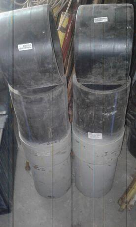 Перехід ПЕ/Сталь 280х273мм з терморезисторною муфтою