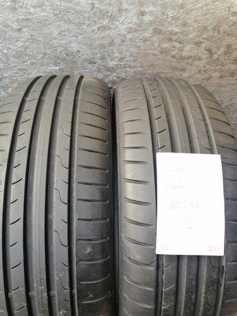 225/55/17 225/55R17 Dunlop 2015 lato