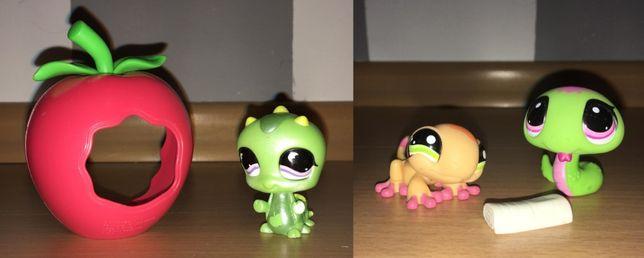 LPS Littlest Pet Shop 3 figurki - ORYGINAŁ