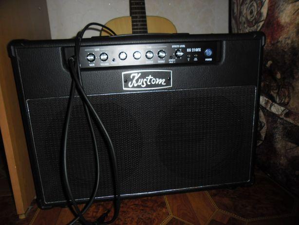 Комбопідсилювач Kustom KG210FX (комбик усилитель для гитары)