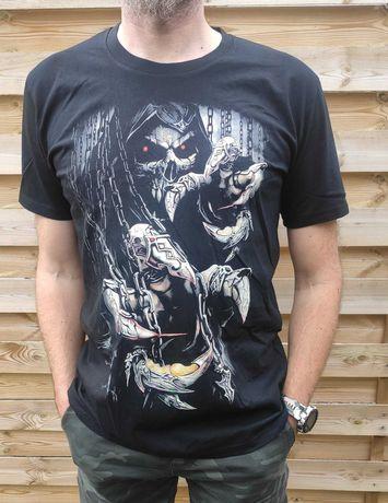 Nowa koszulka szpony czaszka 4xl