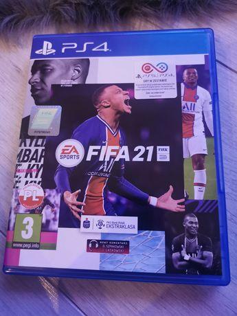 FIFA 21 na ps4, stan perfekcyjny