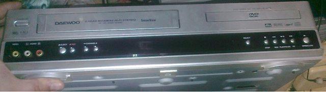 Odtwarzacz VHS DVD Combo Daewoo (modulator PAL DK)