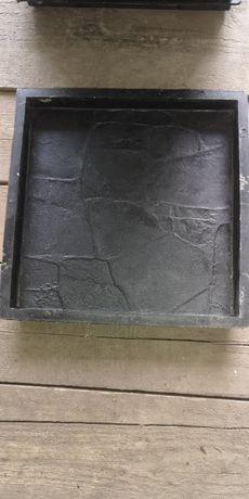 Formy do płyt betonowych 30cm x 30cm. Płyty chodnikowe gipsowe forma.