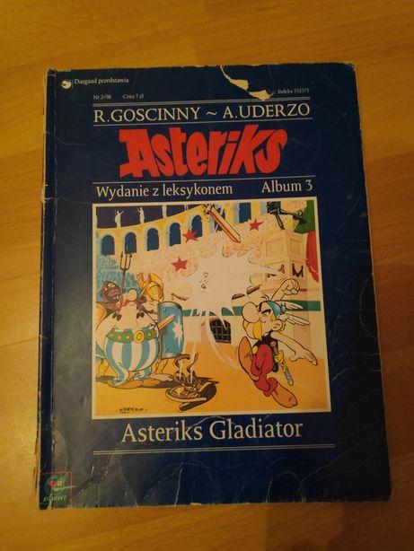 Komiks Asteriks Gladiator