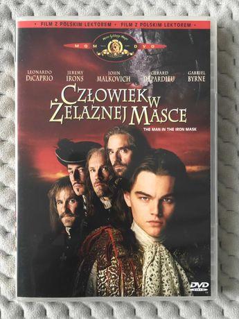 """""""Człowiek w żelaznej masce"""" - płyta DVD (polski lektor)"""