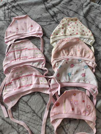 Чепчики, шапочки для новорожденного