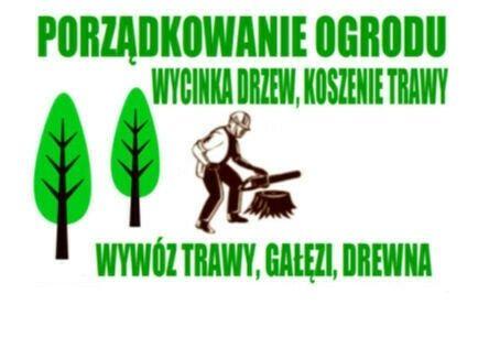 Karczowanie,wycinka drzew,koszenie nieurzytków traw,rębak,ogrodnik