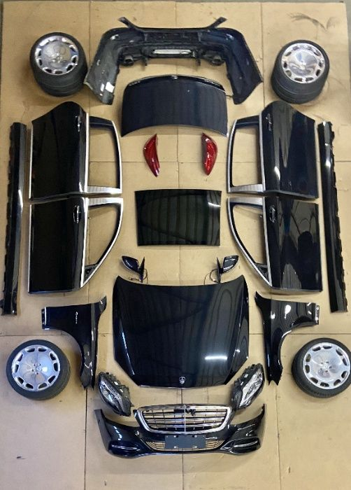 Автозапчасти (мотор, коробка, двери, бампер) Maybach S 600 S 400 Ужгород - изображение 1