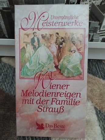 Wiedeńskie melodie z rodziną Strauss (3MC) 3 kasety