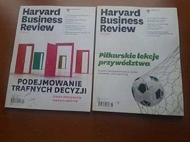 Harvard Business Review Polska 10/2015 i 6/2016