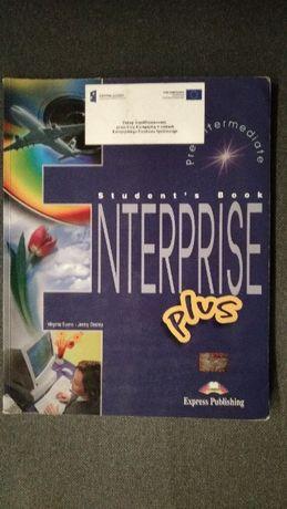 "Książka ""Enterprise plus pre-intermediate"" Student's book + workbook"