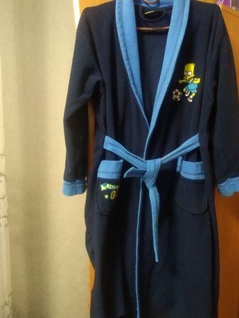Флісовий халат на хлопчика