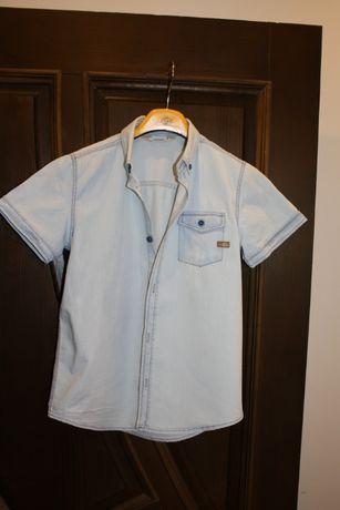 Джинсова рубашка 122-128р.Ідеальний стан.