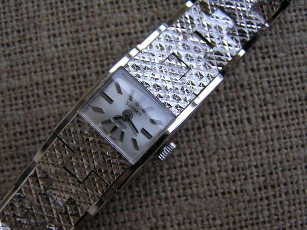 Szwajcarski biżuteryjny zegarek SUMMIT INCABLOC - 17 jewels