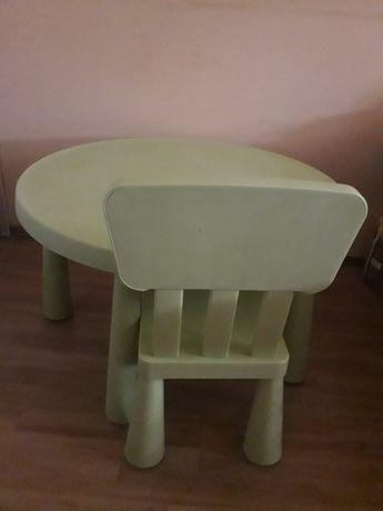 Stolik i krzeselko