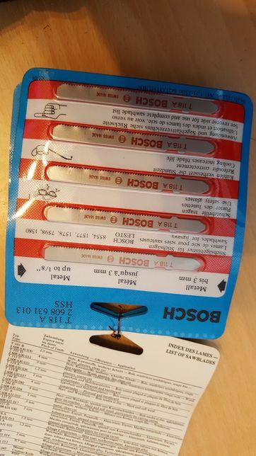 BOSCH brzeszczot T118A T144D T101B T101D pilniki szczotki