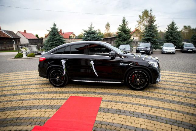 Samochód do ślubu,  GLE 6.3 AMG,  BMW F01 - seria 7