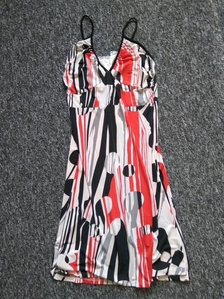 Sukienka rozkloszowana lato długa