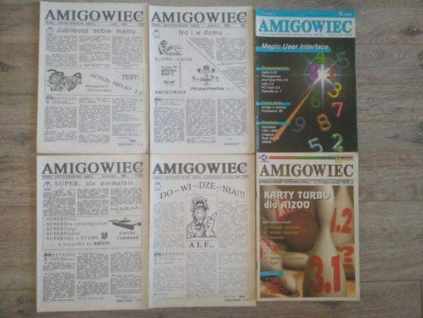 Czasopismo Amigowiec pierwsze wydania CZARNO-BIAŁE