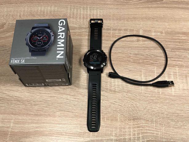 Garmin Fenix 5X Sapphire / gwarancja do dnia 27.02.2022