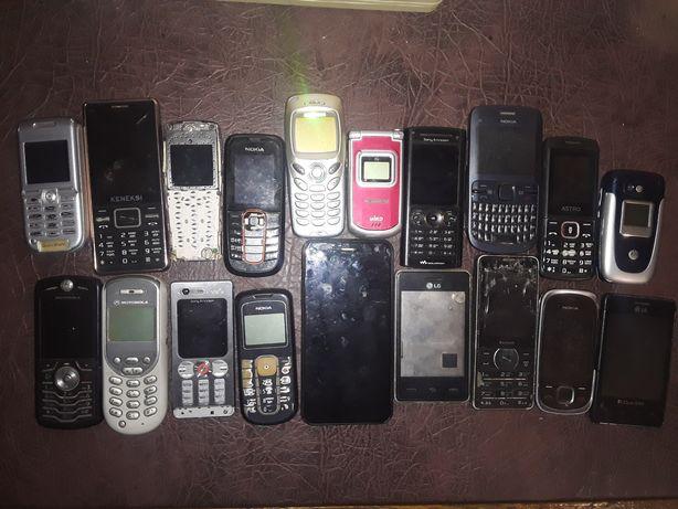 19 мобільних телефонів