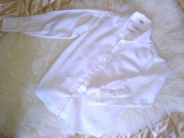 Нова! Calvin Klein біла сорочка в школу белая рубашка школьная Zara