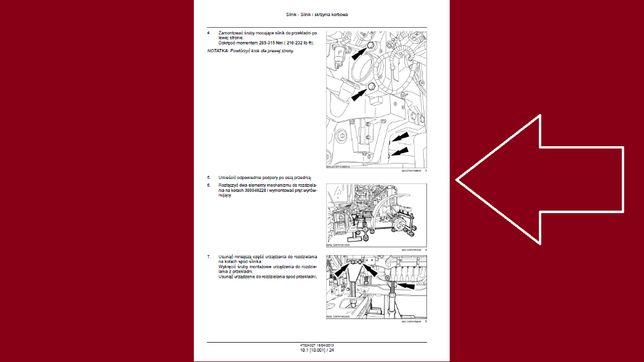 CASE PUMA CVX i zwykła od 170 do 230 instrukcja napraw po Polsku!