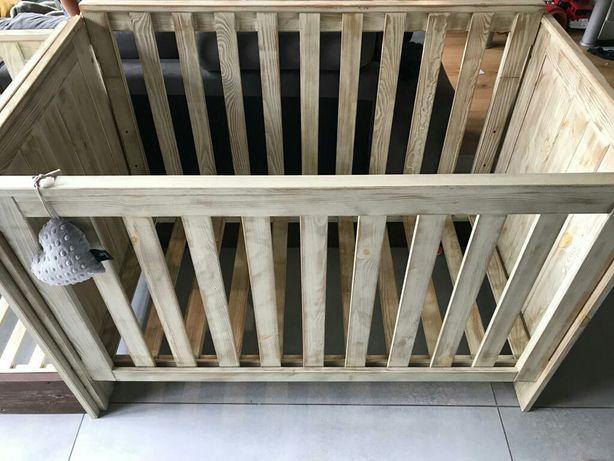 Łóżeczka dziecięce Pinio nostalgia drewnostyl
