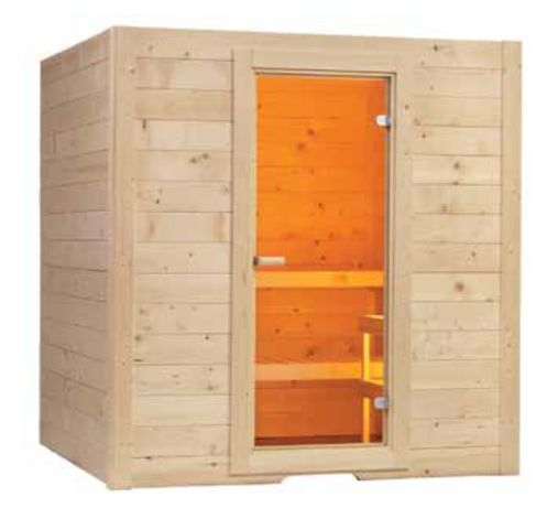 Sauna Basic 1.95x1.87x2.04 Kit 2