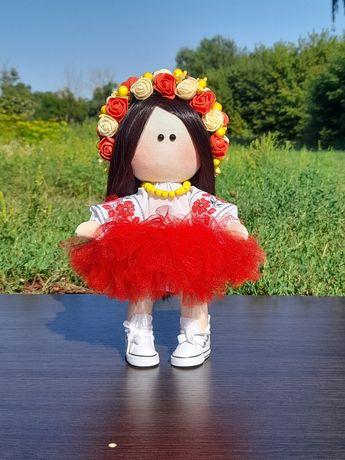 Текстильная кукла в национальном костюме