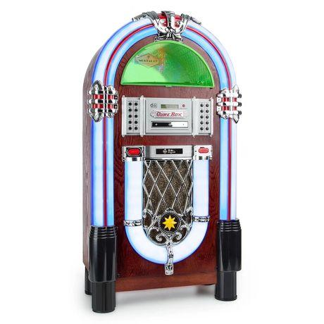 Музыкальный автомат в стиле ретро, Bluetooth, проигрыватель винила,