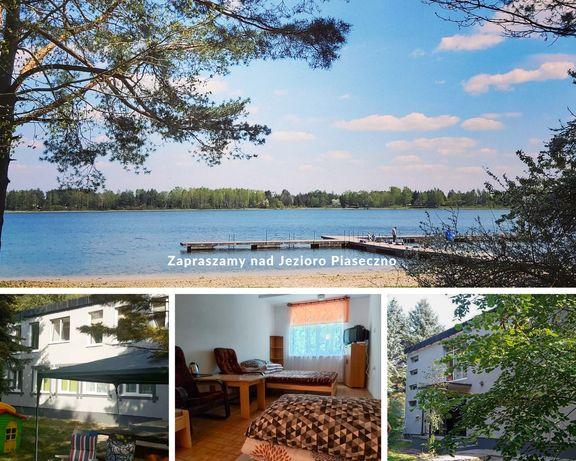 Jezioro Piaseczno 5 minut od plaży, pokoje