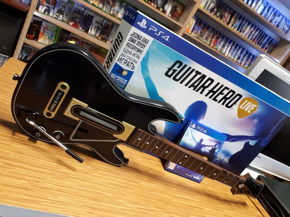Guitar Hero Live PS4 PlayStation 4 gitara kompletny zestaw Lombard Pleszew - image 1