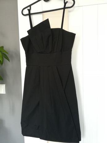 Czarna wizytowa sukienka Vissavi r. 38