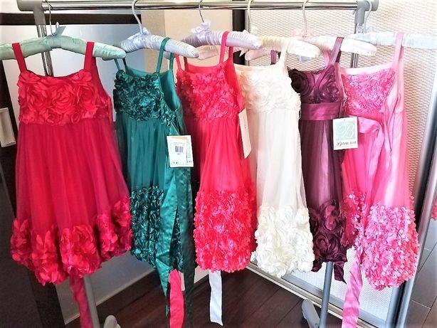 Sale! Нарядные платья 6-8 лет Америка. Англия. Для коллективов, двойни