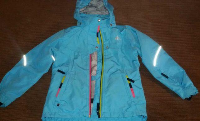 Куртка деми для девочки 8-10 лет