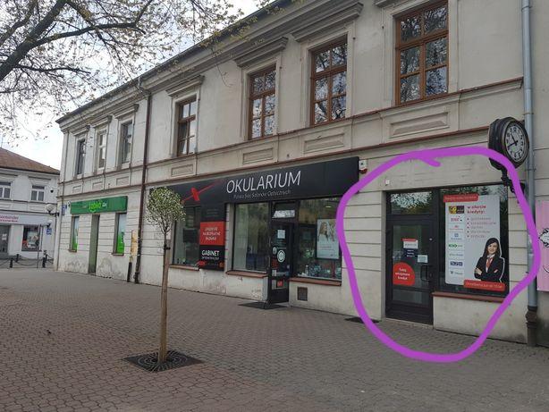 Lokal do wynajęcia pod Zegarem, Plac Wolności, centrum Biała Podlaska