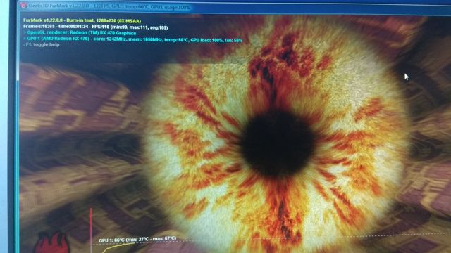 Видеокарта Sapphire AMD Radeon RX 470 4Gb Nitro+